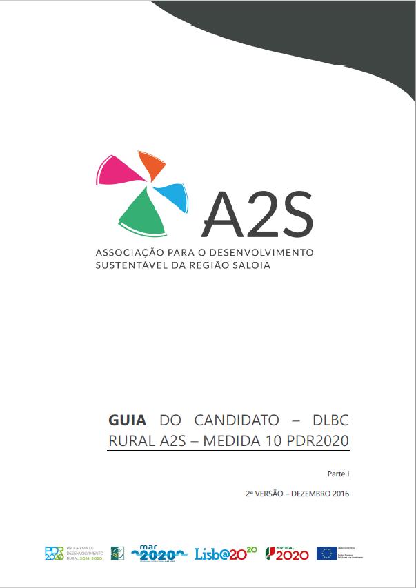 Guia Medida 10 -PDR2020 – Parte 1 – Geral. versão de  dezembro 2016