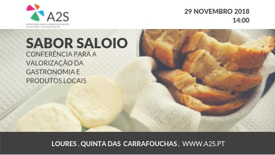 """A2S Promove Conferência """"Sabor Saloio – Valorizar A Gastronomia E Os Produtos Locais"""""""